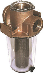 Arg Raw Water Strainer Groco Size 3 - Stainless Steel