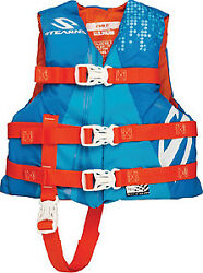 Childrenand039s Watersport Classic Series Nylon Vests Stearns Color Abstract Wave