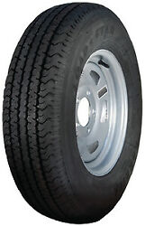 Loadstar Radial Tire And Wheel Assembly, St185/80r-13, 5 Hole Directional Steel,