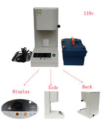Touch Screen Display Automatic Melt Flow Index Rate Tester 110v Mfr Tester 500w