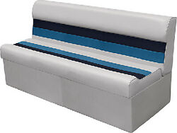 Wise 8wd106 - Deluxe Pontoon 55 Lounge Seats Color Light Gray/navy/blue