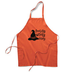 Aprons For Women And Men Feeling Witchy Today Halloween Housewarming Gifts