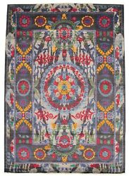 Modern Hand-knotted Carpet 8and03911 X 12and0391 Oriental Wool Area Rug