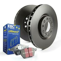 Ebc Brakes S1 Kits Ultimax 2 And Rk Rotors For 2014 Chevrolet Tahoe Ppv B2e46f-7