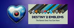 Destiny 2 Empathic Shell Pin With Emblem 24/7 Delivery