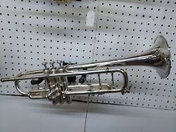 Bach Silver Stradivarius Trumpet 43 In Excellent Condition