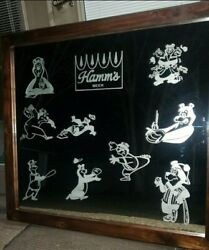 Extra Large Hamms Engraved Mirror