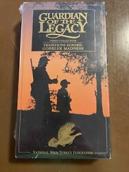 Guardian Of The Legacy Vhs National Wild Turkey Federation New Sealed