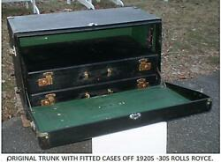 Trunk For Antique Classic Car Rolls Royce Springfield Phantom 1 And Others