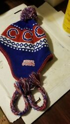 Chicago Cubs Winter. Scarf Hat