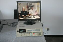 Sony Svo-5800p High-end Professional S-vhs Video Recorder Pal