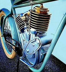 1909 V-twin Replica Mock Up Faux Engine 1-1 Scale Board Track Racer Indian