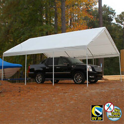 King Canopy Hercules Canopy With Cover White Cover 18' X 20'