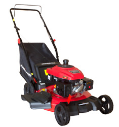 3in1 Grass Lawn Mower 170cc Push Gas-powered Engine With 21in Steel Mowing Deck