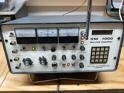 Helper Communications Service Monitor As Is For Parts Or Repair No Returns.