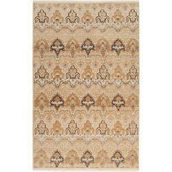 Surya Cmb8000-5686 Cambridge 102 X 66 Inch Neutral And Brown Area Rug Wool