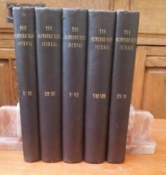 The Climbersand039 Club Journal - Complete Set Of Volumes 1-10 1898-1908