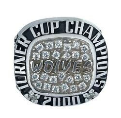 🏒2000 Chicago Wolves Ihl Hockey Turner Cup🏆 Champions Nhl Championship Ring