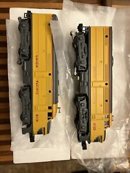 Lionel Trains Union Pacific Fa-2 Alco Aa Diesel Powered Engine And Dummy 1-18119