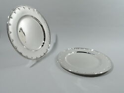 Saint St Dunstan Plates 17630b Dinner Charger American Sterling Silver