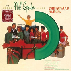 Phil Spector Christmas Album Various 13 Holiday Songs New Green Colored Vinyl Lp