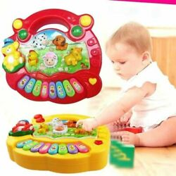 Organ Musical Instruments Toy Playing Instrument Animal Farm Piano Music Toy