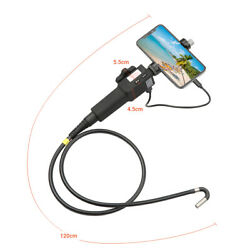 Articulating Usb Endoscope Flexible Inspection Camera 1080p Photo For Smartphone