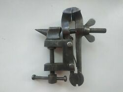 Vise Anvil Small Old Hand Tools Jeweler's Vises Metal Rare Tool Ussr Woodcarving