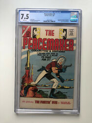 Peacemaker 1 - Cgc 7.5 White Pages 1st Print John Cena Suicide Squad Hbo