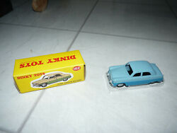 Atlas Dinky Toys No162 Ford Zephyr Saloon In Two Tone Blue - Mib