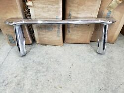 Nos 1949-52 1950 Chevy Chevrolet Bumper Guard Grill Front Bomb Lowrider 986260