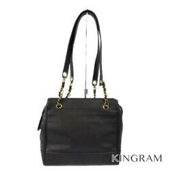 Gold Hardware Trip Luco Co Chain Cross Body Bag Black Tote Bag From Japan