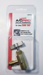 Certdv134   Certified A/c Proandtrade Auto Air Conditioning R-134a Can Tap