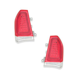 Tail Lights Rear Lamps Pair Set For 15-19 Chrysler 300 Chrome Left And Right