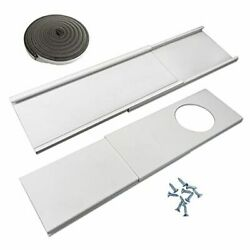Window Seal Plates Kit For Portable Air Conditioners Plastic 12cm-fits 5 Dia