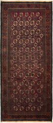 Vintage Hand-knotted Carpet 4'2 X 9'10 Traditional Oriental Wool Area Rug