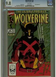 Wolverine 29 Cgc 9.8 Mint White Pages 1990 Karma Appearance Lazarus Project
