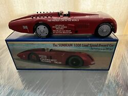 Schylling Collector Series Sunbeam 1000 Land Speed Record Wind Up Car With Key
