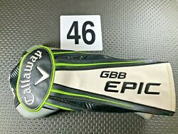 Callaway Epic Gbb Driver Head Cover Super Nice Fast Shipping