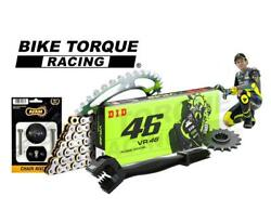 Vr46 Chain And Sprocket And P5 Kit To Fit Suzuki Dr-z400s Y-l4 Trail 00-14