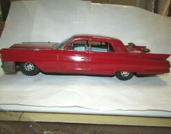 Bandai Cadillac Large Tin Cars From The Old Days Showa Antique Japan F/s