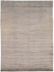 Hand-knotted Carpet 9and0390 X 12and0394 Pak Finest Gabbeh Traditional Wool Rug