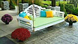 Marlboro Swing Bed With Rope Hanging Kit-multiple Poly Colors And Sizes