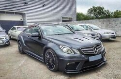 Mercedes E Class W207 Coupe Black Series Full Body Kit Kits Complets Carrosserie