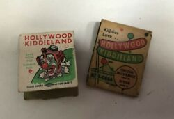Hollywood Kiddieland Lincoln-mccormickdevon Chicago Illinois 2 Matchcover Lot