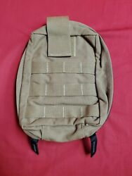 Large Vertical Utility Pouch Coyote Brown Molle