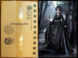 Queen Of The Dark Forest Barbie Doll Haunted Beauty Shipper Gold Label