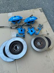 Ford Focus Rs Oem Brembo Brakes Front And Rear Nitrous Blue