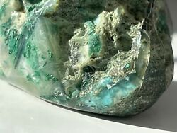 Now Sold Rare Ajoite Papagoite In Quartz Crystal