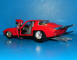 Hot Wheels Corvette Pro Street Dragster 118 Scale - See Pics